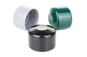 Round fence post plastic cap